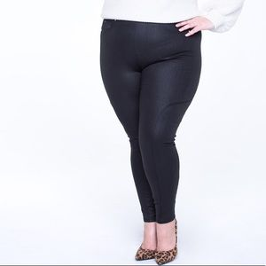 a6ff03be4ceed RWN by Rawan Jeans - Coated Pull On Skinny Jean